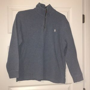 Polo 1/4 zip up sweater